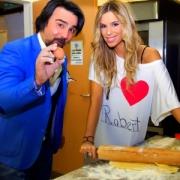 Regina és Gianni a konyhában