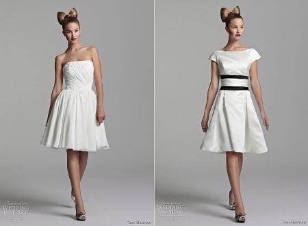 Rövid menyasszonyi ruhák - Life magazin 96120fd4c7