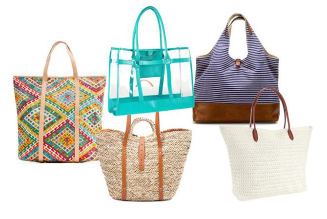 9d4151a04598 Aztékmintás táska, Mango, 6595Ft, Szalmatáska, Zara, 5995Ft, Fehér  strandtáska, H&M, 2990Ft, Kék átlátszó táska, H&M, 6990Ft, Kék-fehér csíkos  strandtáska, ...