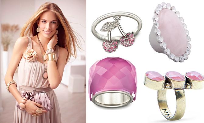 A nyár trendje  rózsaszín ékszerek 833cf75f41