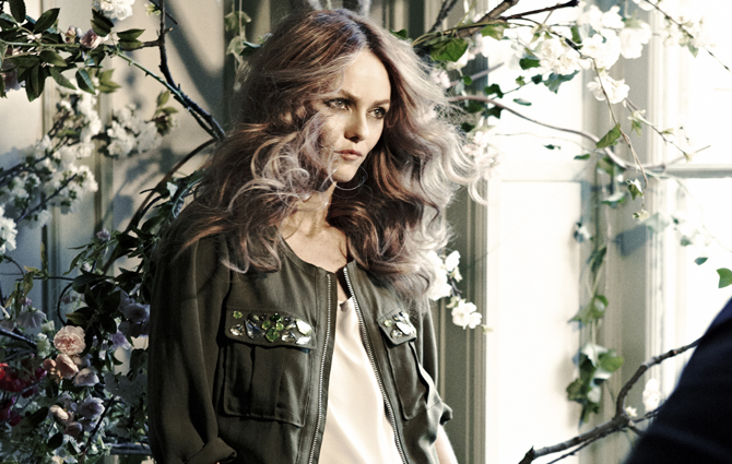 Vanessa Paradis a H&amp;M Conscious arca