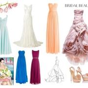Hódítanak a színes menyasszonyi ruhák