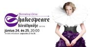 Udvaros Dorottya lesz Shakespeare királynője a Városmajorban