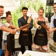 Az ország legnagyobb kürtőskalács tortáját készítik el
