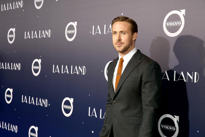 """Ryan Gosling seen at Summit Entertainment, a Lionsgate Company, Presents the Los Angeles Premiere of """"La La Land"""" at Village Theatre on Tuesday, Dec. 6, 2016, in Los Angeles. (Photo by Blair Raughley/Invision for Lionsgate/AP Images)"""