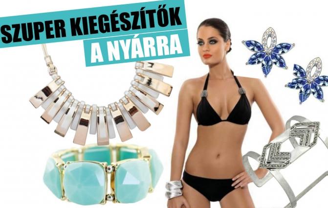 Ezekkel a bikinikkel és kiegészítőkkel Te lehetsz a vízpart sztárja
