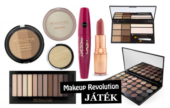 Szeretnél egy Makeup Revolution sminkcsomagot?