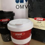Újratölthető kávéscsészék