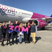 Újabb Wizz Air-mérföldkő: 30 millió utas a magyarországi járatokon