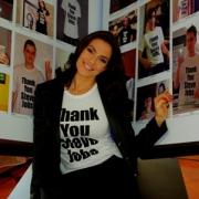 A csinos modell is köszönetet mond Steve Jobs-nak