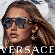 Gigi Hadid a Versace új szemüvegkampányának arca