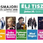 Élj tisztán!Drogellenes világnapi koncert és családi nap a Városmajorban