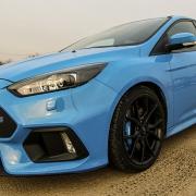 A kék villám - Ford Focus RS
