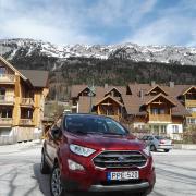 Ford EcoSport Titanium teszt Ausztriában
